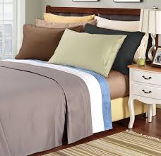 com 1500 thread count 100 egyptian cotton single ply king bed sheet set solid white home kitchen