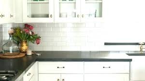gray backsplash white cabinets gray white cabinets greatest kitchen stick on grey subway tile gray white