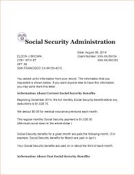 10 Social Security Benefits Letter Registration Statement 2017