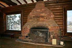 grand canyon national park geologic fireplace 2788 by nps grand fireplace n79 grand
