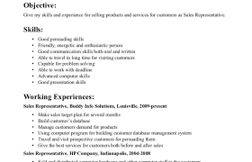 Inside Sales Representative Resume Template Customs Broker Cover