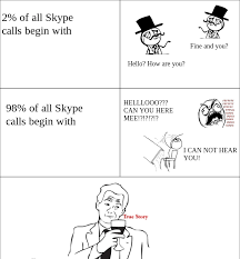 Funny Skype Quotes. QuotesGram via Relatably.com
