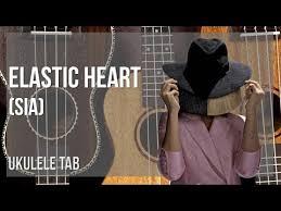 easy ukulele tab how to play elastic heart by sia