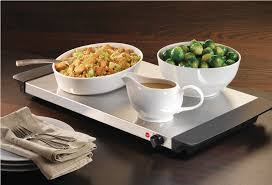image of buffet server and warming tray