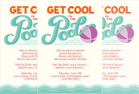 pool party flyer template blank. Interesting Template Printable Pool Party Invitation Template Sample In Flyer Blank V