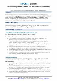 perl programmer resume analyst programmer resume samples qwikresume