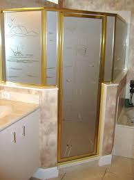 etched sandblasted shower doors creative mirror pertaining to glass prepare pr shower door decals