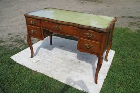 french style office furniture. WONDERFUL VINTAGE FRENCH STYLE 5 DRW OAK LEATHER TOP WRITING DESK- IN EXCELLENT OVERALL CONDITION READY FOR YOUR HOME OR OFFICE- WITH CABRIOLE French Style Office Furniture Y
