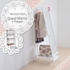 Princess Coat Rack auc100myroom Rakuten Global Market Iron series stand mirror 54