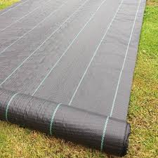FREE PEGS + 2m x 25m 100g Weed Control Ground Cover Membrane Landscape  Fabric: Amazon.co.uk: Kitchen & Home