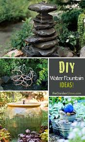 diy water fountain water fountains