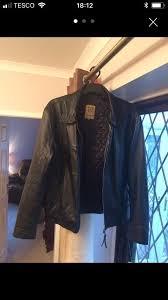 men s leather jacket by aviatrix