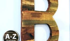 rustic wooden wall letters rustic barn wood letter g painted