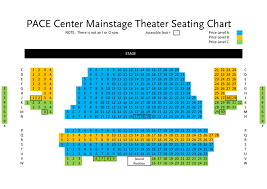 Norris Penrose Event Center Seating Chart Pace Center Seating Chart Theatre In Denver