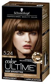 Schwarzkopf Ultime Hair Color Cream Cinnamon Brown 5 24 2 03 Ounces