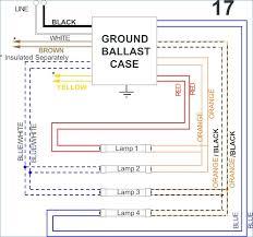 fluorescent ballast wiring diagram kanvamath org wiring diagram for fluorescent ballast at Wiring Diagram For Ballast