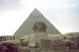 the pyramids of