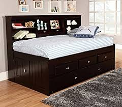 Amazon Discovery World Furniture Twin Bookcase Daybed with 3