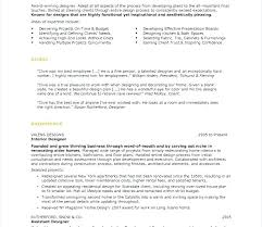 Assistant Designer Resume Interior Design Resume Sample Assistant Designer Resume Interior