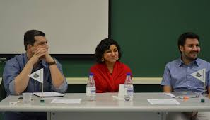 figure 5 round table discussion members dr paulo lacava ana sifuentes and dr francis nunes