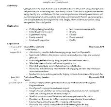 Nanny Resume Sample Templates Template Lovely Example Babysitter