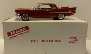 Danbury Mint 1958 CHRYSLER 300D SPORT COUPE 1:24 Scale Diecast ...
