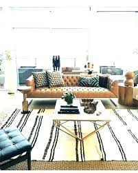 brown leather sofa decor what color rug goes with a brown couch rugs pertaining to dark