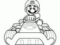 Mario Kart Kleurplaten Pinterest Mario Kart Super Mario Bros