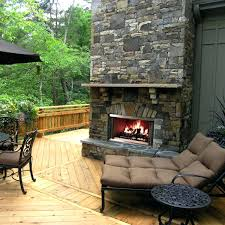 outdoor stone fireplace plans kits for canada