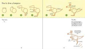usborne drawing book game