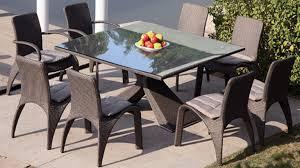 Ensemble table chaise jardin table et chaise de jardin aluminium ...