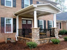 Porch Design Ideas front patio designs interior gorgeous front porch portico design ideas with half brick