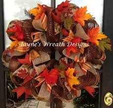 Cushty Autumn Wreaths Fall Wreath Craft Diy Fall Wreath Fall Wreath Craft  Outdoor Fall Wreaths Front