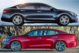 Nissan Altima Comparison Chart 2018 Nissan Altima Vs 2018 Nissan Maxima Whats The