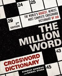 the million word crossword dictionary 2nd edition read a sle enlarge book cover