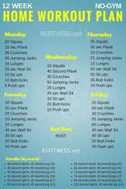 Workout Chart For Weight Gain Pin On Losing Weight Plan