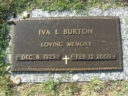 Iva Lucille Lasure Burton (1923-2009) - Find A Grave Memorial