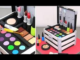 make up cosmetics box cake pastel caja de maquillaje