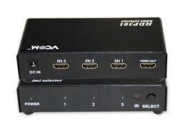 <b>Сплиттер</b> VCOM <b>HDMI</b> 1 4V Switch 5x1 DD435 - Агрономоff