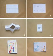 Bloesem Kids | Travel craft projects: Single sheet paper story book DIY by  Anouk van