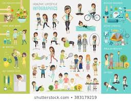 Gym Exercise Chart Stock Vectors Images Vector Art