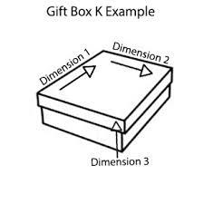 Gift Box K Yellow Boxmart