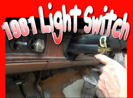 removing and installing light switch on a 1981 f150 ford truck 1978 ford truck wiring schematic at 74 Ford Truck Headlight Switch Wiring
