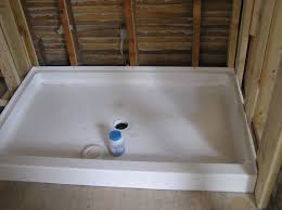 beautiful white swanstone shower pan for bathroom decoration ideas