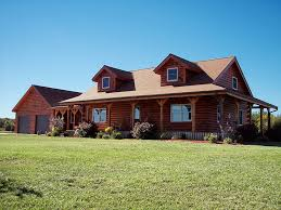log home floor plans with attached garage