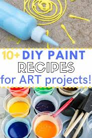 easy homemade paint recipes for kids