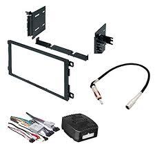 amazon com car stereo radio dash installation mounting kit w wiring Car Stereo Wiring Harness Adapters at Stereo Mounting Kit And Wiring Harness