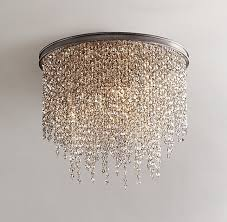 446 best chandelier lampshades diy images on crystal for amazing house crystal chandelier flush mount plan
