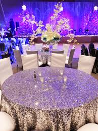 I want these sparkly tablecloths for my head table