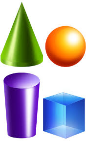 Geometry clipart solid figure - Pencil and in color geometry ...